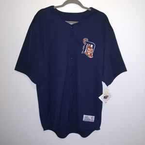 New Official Detroit Tiger No Print Players Jersey